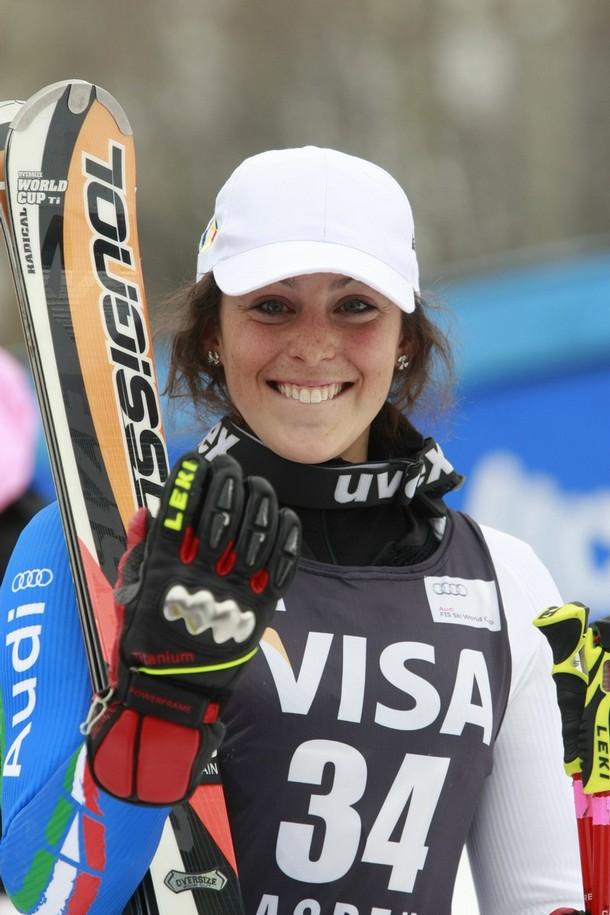 Federica Brignone ad Aspen (foto FIS-ski.com)