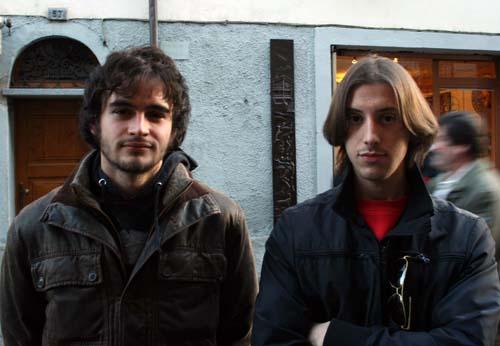 Alessandro Pascale e Matteo Castello