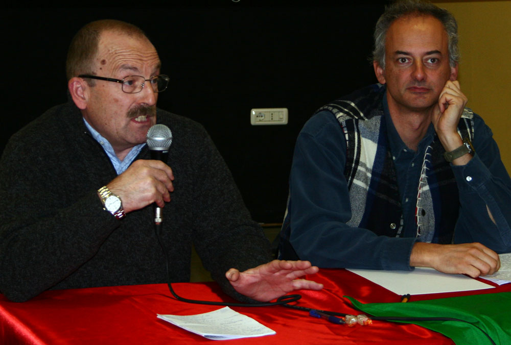 Franco Vallet con Fedi (foto AM)