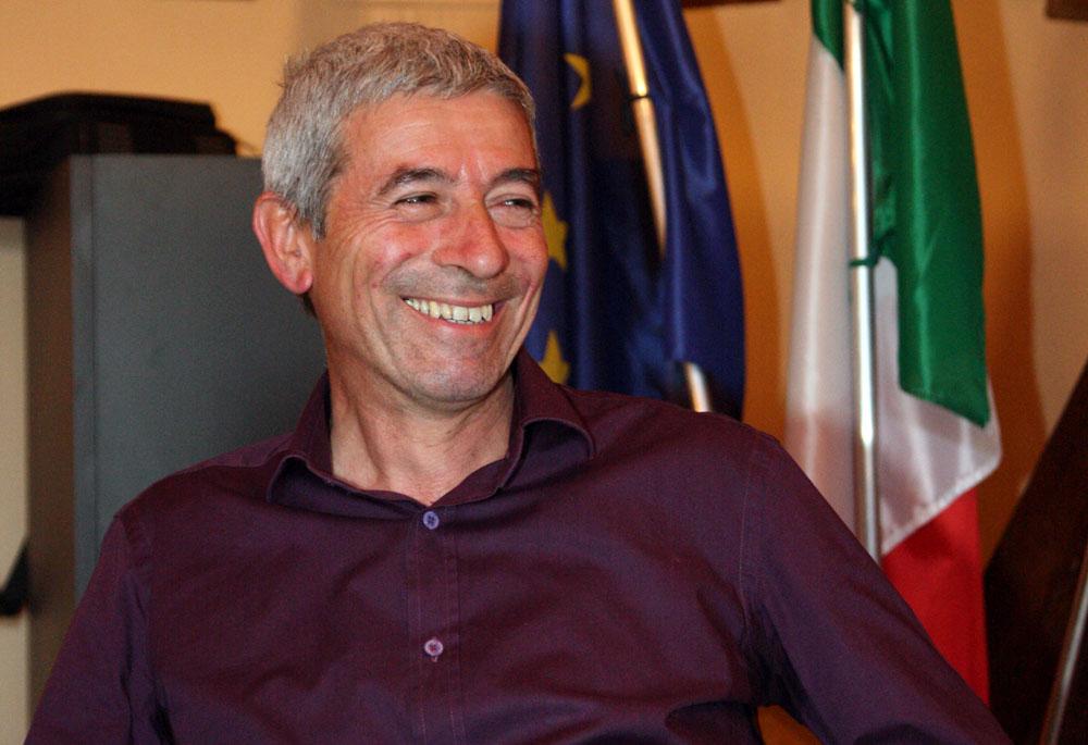 """Ettore Viérin, premio """"Lenza d'oro"""" (foto AM)"""
